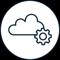 Icon Cloud Entwicklung