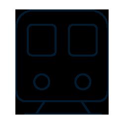 Icon Bahnhofsnaehe