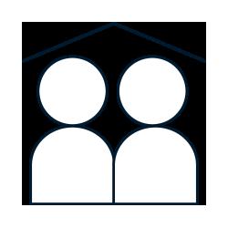 Icon Familienfreundlich durch Homeoffice