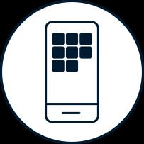 Icon Mobil App Entwicklung